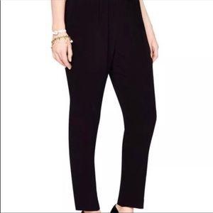 Kate Spade Fancy Meeting You Black Dress pants